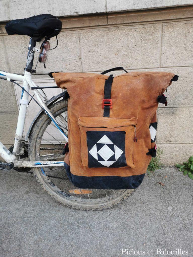 Sacoche urbaine vélotaf