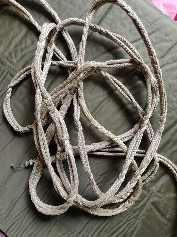 Faire ses propres cordes de hamac en dyneema