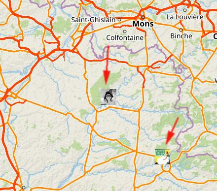 La carte du maraudeur ou le suivi en direct de Locus Map
