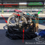 Ranger son vélo dans sa housse