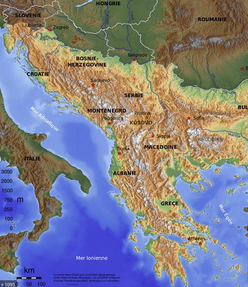 Marie en vadrouille dans les Balkans